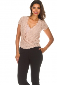 Rosemunde |  Lace top Delicia | pink  | Picture 2