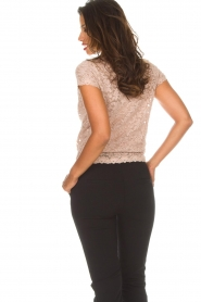 Rosemunde |  Lace top Delicia | pink  | Picture 6