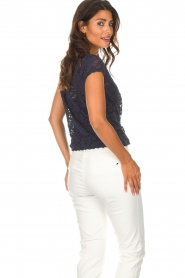 Rosemunde |  Lace top Delicia | blue  | Picture 6