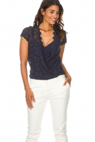 Rosemunde |  Lace top Delicia | blue  | Picture 2