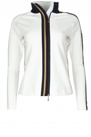 Par 69 |  Golf jacket Borg | white  | Picture 1