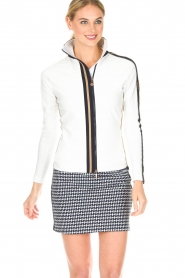 Par 69 |  Golf jacket Borg | white  | Picture 4