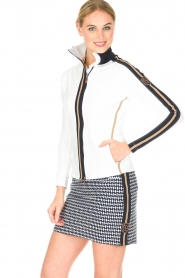 Par 69 |  Golf jacket Borg | white  | Picture 2