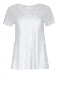 American Vintage | T-shirt Jacksonville | lichtgrijs  | Afbeelding 1