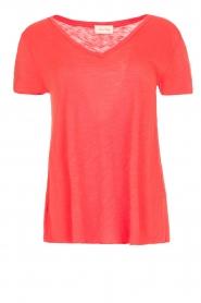 American Vintage | T-shirt Jacksonville | rood  | Afbeelding 1