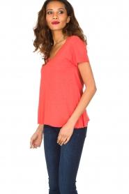 American Vintage | T-shirt Jacksonville | rood  | Afbeelding 4