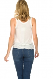 American Vintage | Zachte basic top Tibodo | wit  | Afbeelding 5
