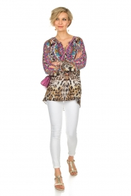 Hale Bob |  Top Gwyneth | animal print  | Picture 3