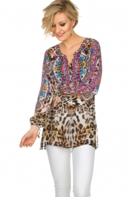 Hale Bob |  Top Gwyneth | animal print  | Picture 2