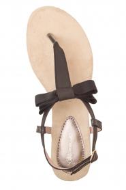 Maluo | Leren sandalen Wish | zwart  | Afbeelding 2