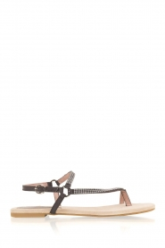 Maluo |  Leather sandals Kells | black  | Picture 3