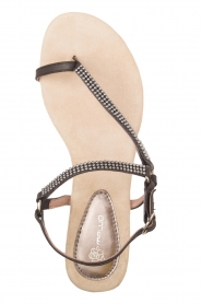 Maluo |  Leather sandals Kells | black  | Picture 1