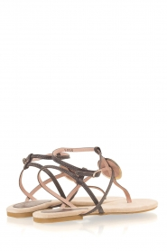 Maluo |  Leather sandals Martine | grey  | Picture 5