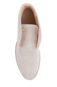 Maluo |  Leather shoes Dali | beige  | Picture 5