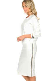 Patrizia Pepe |  Sweater Ambra | white  | Picture 4
