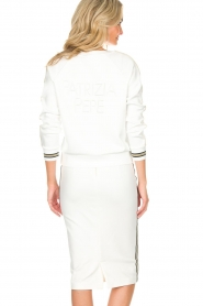 Patrizia Pepe |  Sweater Ambra | white  | Picture 5