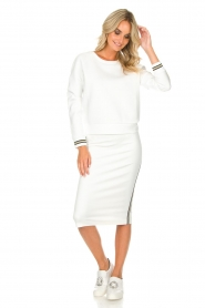 Patrizia Pepe |  Skirt Alda | white  | Picture 3