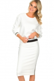 Patrizia Pepe |  Skirt Alda | white  | Picture 2
