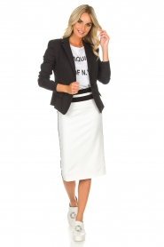 Patrizia Pepe |  Skirt Alda | white  | Picture 6