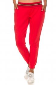 Patrizia Pepe | Pantalon Avera | rood  | Afbeelding 2