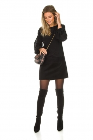Patrizia Pepe |  Dress Davide | black  | Picture 3