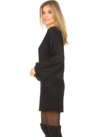 Patrizia Pepe |  Dress Davide | black  | Picture 6