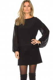 Patrizia Pepe |  Dress Davide | black  | Picture 2