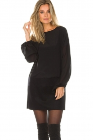 Patrizia Pepe |  Dress Davide | black  | Picture 5