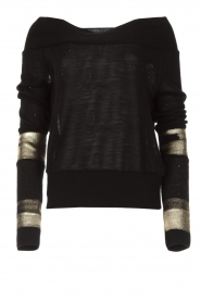 Patrizia Pepe |  Sweater Donya | black  | Picture 1