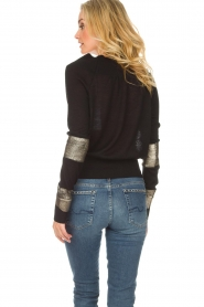 Patrizia Pepe |  Sweater Donya | black  | Picture 5