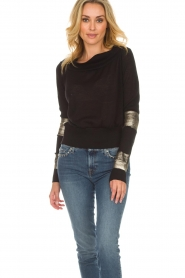 Patrizia Pepe |  Sweater Donya | black  | Picture 2