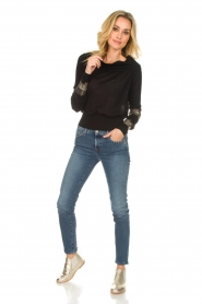 Patrizia Pepe |  Sweater Donya | black  | Picture 3