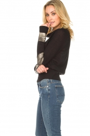 Patrizia Pepe |  Sweater Donya | black  | Picture 4