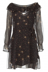 Patrizia Pepe |  Dress Aurora | black  | Picture 1