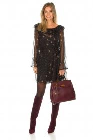 Patrizia Pepe |  Dress Aurora | black  | Picture 3