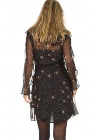 Patrizia Pepe |  Dress Aurora | black  | Picture 5
