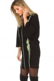 Patrizia Pepe |  Dress Alessia | black  | Picture 5