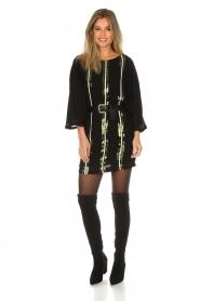 Patrizia Pepe |  Dress Alessia | black  | Picture 3
