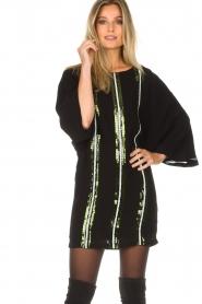 Patrizia Pepe |  Dress Alessia | black  | Picture 2