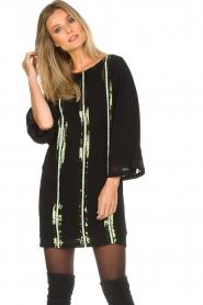 Patrizia Pepe |  Dress Alessia | black  | Picture 4