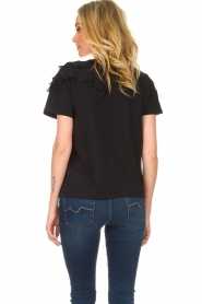 Patrizia Pepe |  Top Julia | black  | Picture 5