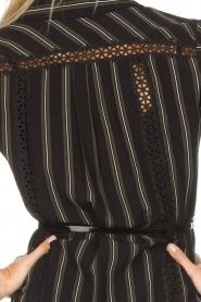 Patrizia Pepe |  Blouse dress Carmina | black  | Picture 7