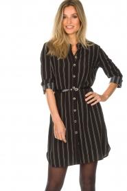 Patrizia Pepe |  Blouse dress Carmina | black  | Picture 4