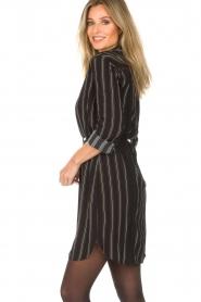 Patrizia Pepe |  Blouse dress Carmina | black  | Picture 5