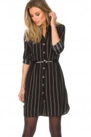 Patrizia Pepe |  Blouse dress Carmina | black  | Picture 2