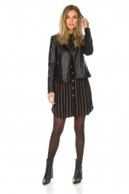 Patrizia Pepe |  Blouse dress Carmina | black  | Picture 3