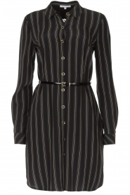 Patrizia Pepe |  Blouse dress Carmina | black  | Picture 1