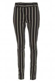 Patrizia Pepe | Pantalon Beppe | zwart  | Afbeelding 1