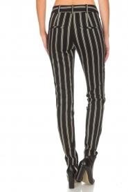 Patrizia Pepe |  Trousers Beppe | black  | Picture 5