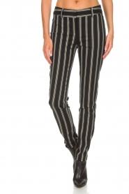 Patrizia Pepe |  Trousers Beppe | black  | Picture 3
